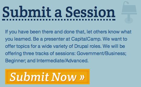 Submit your CapitalCamp Session Proposals Now