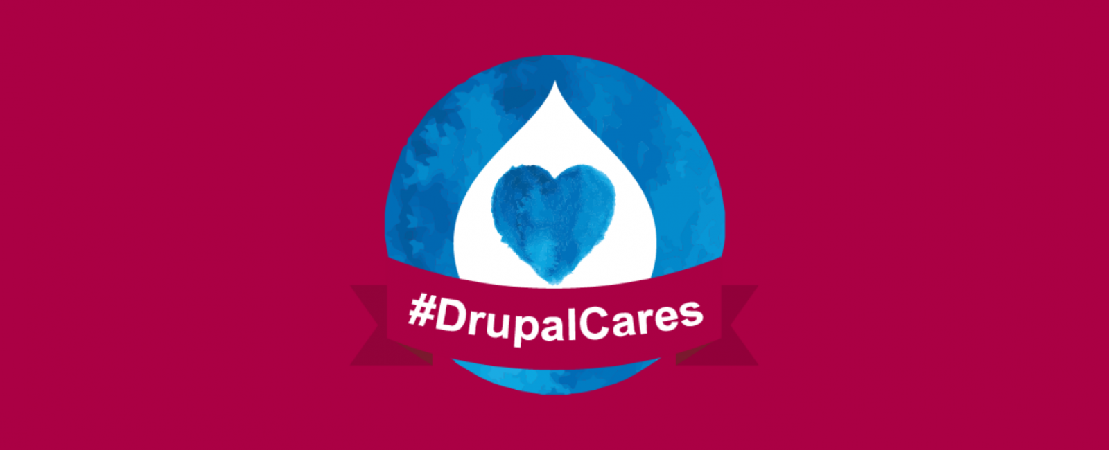 The Drupal Cares Logo