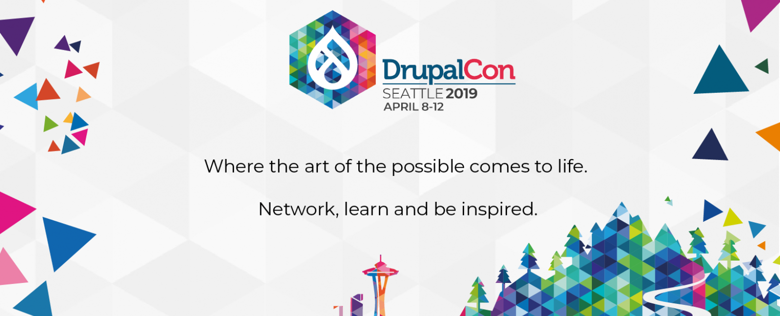 DrupalCon Seattle 2019 logo