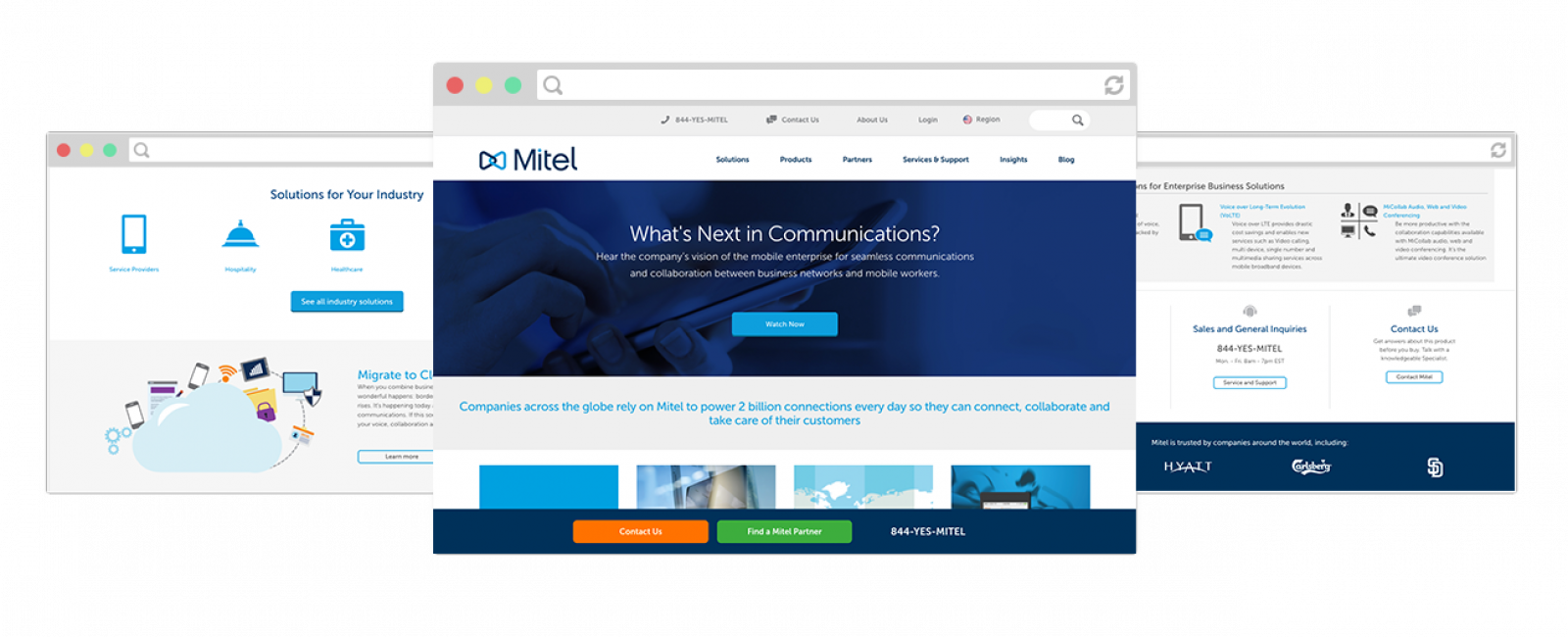 Mitel Screen Shot